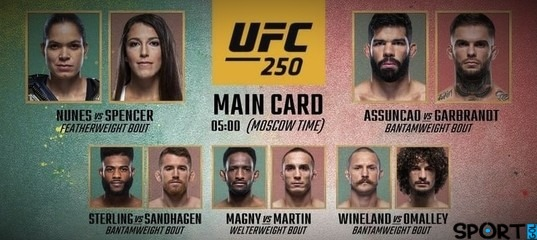 ufc-250-video-obzor-boev-turnira-2020
